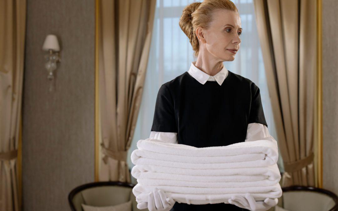 Bewerbung als Zimmermädchen